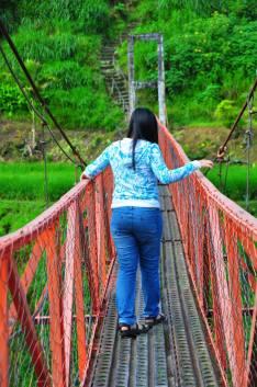 Violet at the Bridge